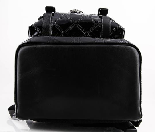 Versace Gianni Patent Leather Backpack Image 4