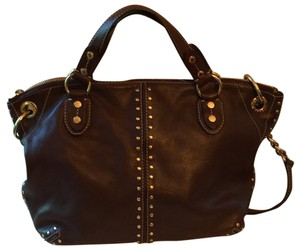 MICHAEL Michael Kors Satchel in Chocolate Brown