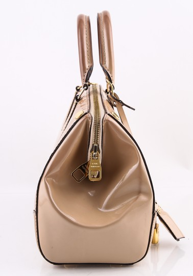 Louis Vuitton Leather Montana Beige Satchel Image 1