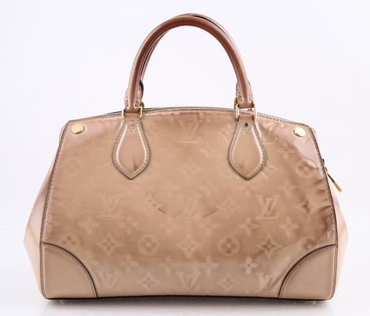 Louis Vuitton Leather Montana Beige Satchel Image 3
