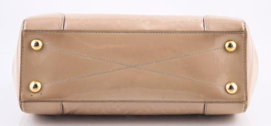 Louis Vuitton Leather Montana Beige Satchel Image 4