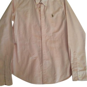 Ralph Lauren Top White/pink