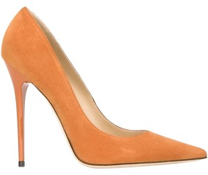 Jimmy Choo Anouk Orange Pumps