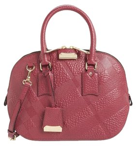Burberry Satchel in Dark Plum