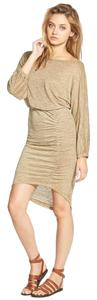 Free People short dress Green Olive on Tradesy