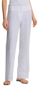 Eileen Fisher Straight Pants NWT White