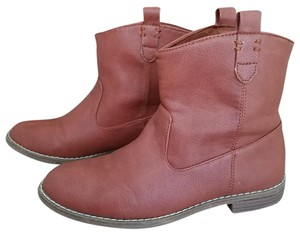 Old Navy Ankle Cognac Boots