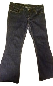 Anchor Blue Flare Leg Jeans-Medium Wash