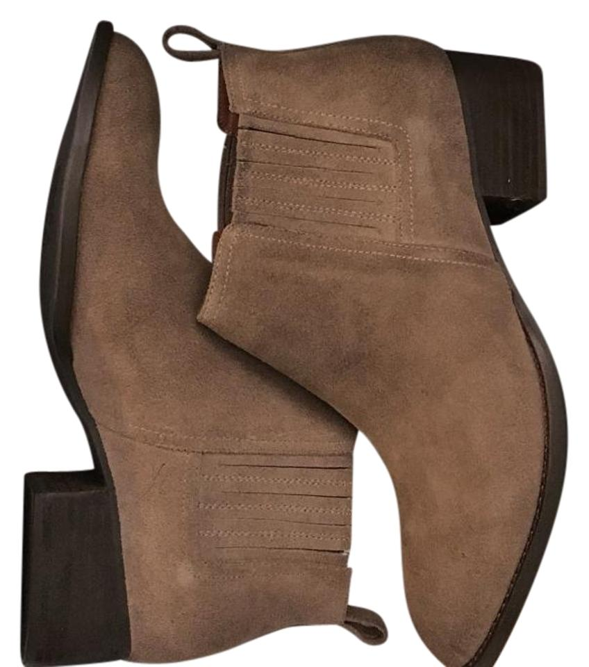 Jeffrey Campbell Distressed Distressed Campbell Taupe Melcalf Boots/Booties 039c58