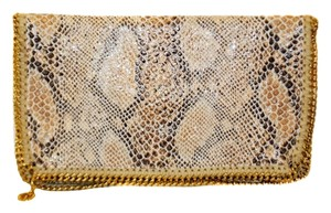 Stella McCartney Gold Clutch