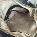 MICHAEL Michael Kors Leather Pockets Satchel in Black Image 3