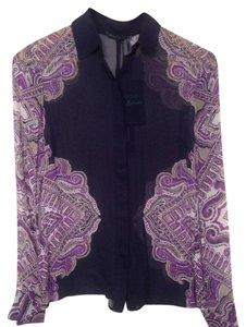 Guess By Marciano Paisley Top purple