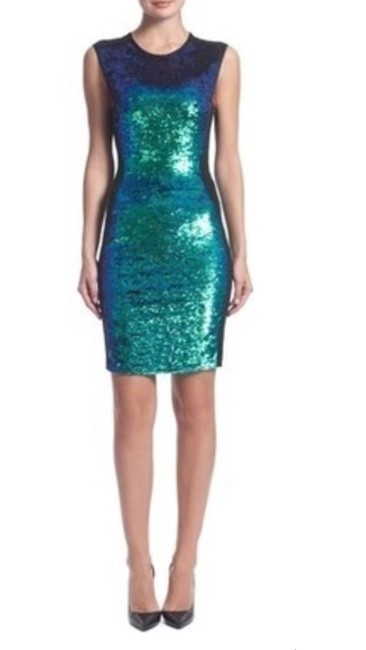 Shoshanna Sequins Holiday Party Sexy Dress