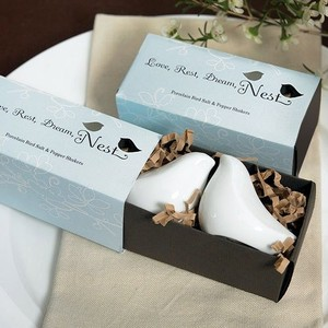 Weddingstar Love Birds Salt And Pepper Shakers - Brand New - 5 Pcs