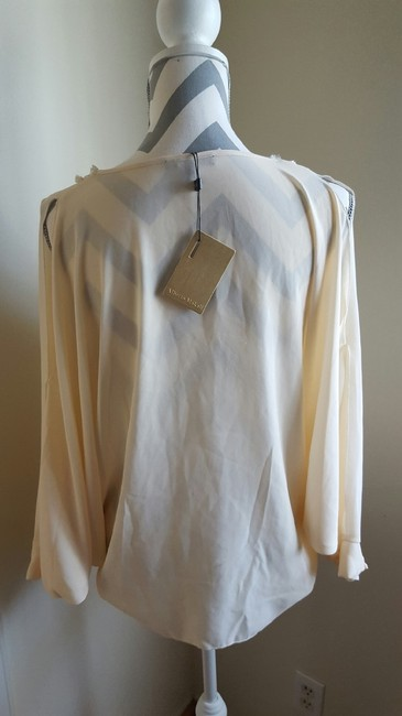 Alberto Makali With Tag Small Stain Store Display Top Off White Image 2