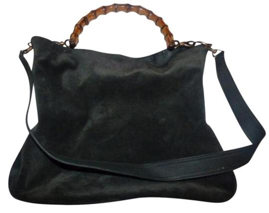Preload https://img-static.tradesy.com/item/17694367/gucci-vintage-pursesdesigner-purses-green-suede-bodygreen-leather-accents-leathersuede-satchel-0-2-540-540.jpg