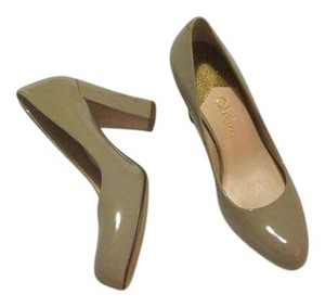 Cole Haan Pump Patent Leather Nude Pumps
