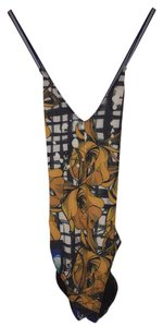 Clover Canyon Shattered Garden Low Back One Piece Swimsuit