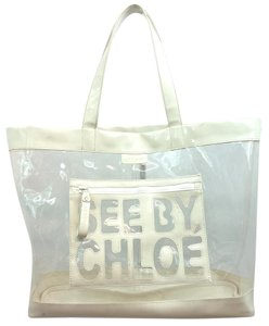 See by Chloé Chloe White Beach Tote