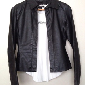 Rampage Leather black Leather Jacket