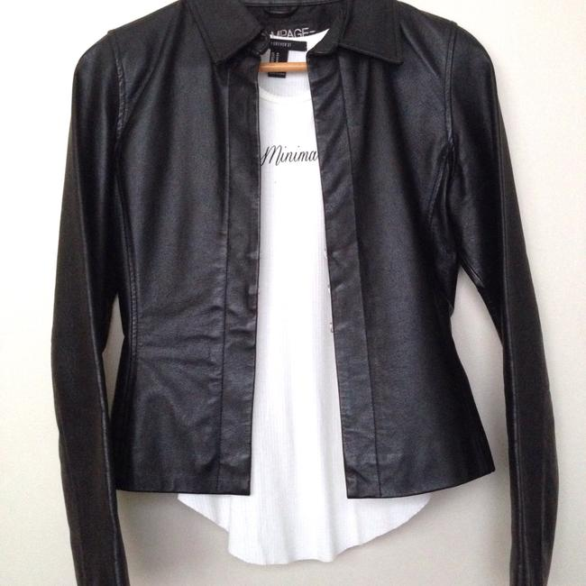 Preload https://img-static.tradesy.com/item/17695741/rampage-black-leather-jacket-size-6-s-0-2-650-650.jpg