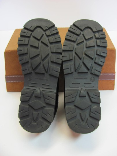 T.K.S. Size 6.00 M Very Good Condition Black Flats Image 5