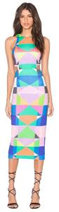 Mara Hoffman Cut Vibrany Colors Dress