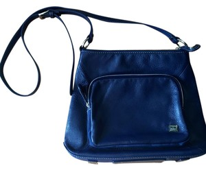 The Sak Leather Travel Cross Body Bag