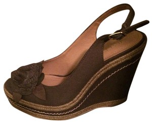 Bakers Army green Wedges