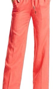 Guess By Marciano Wide Leg Pants Orange
