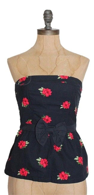 Preload https://img-static.tradesy.com/item/17696665/abercrombie-and-fitch-multi-floral-strapless-peplum-blouse-size-2-xs-0-1-650-650.jpg
