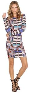 Mara Hoffman Body Con Multicolor Dress