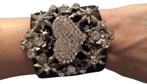otazu Otazu Swarovski Leather Bracelet