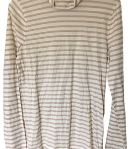 J.Crew T Shirt Cream/Beige Striped