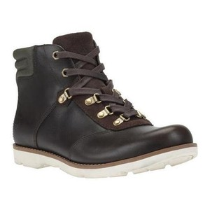 Timberland Earthkeepers Mosley Leather Hikers Low Brown Boots