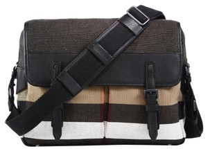 Burberry Check Messenger Bag