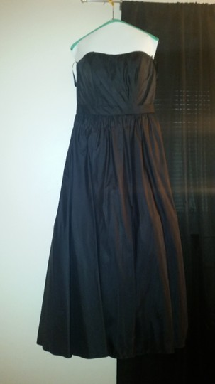 Mori Lee Black 261 Formal Bridesmaid/Mob Dress Size 14 (L) Image 1