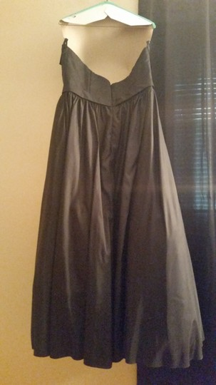 Mori Lee Black 261 Formal Bridesmaid/Mob Dress Size 14 (L) Image 4