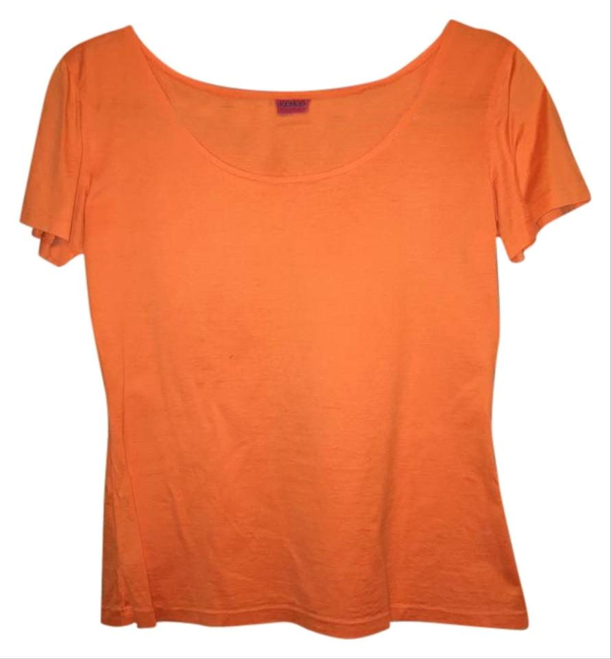 kenzo orange tee shirt size 6 s from md13 on tradesy. Black Bedroom Furniture Sets. Home Design Ideas