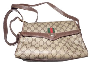 Gucci Envelope Style Large G Logo Print Accessory Col Multiple Compartment Cross Body Bag
