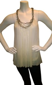 Jeweled Dressy Top Ivory
