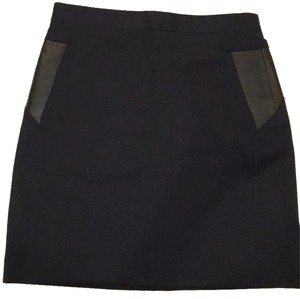The Kooples Mini Skirt Dark blue/navy blue