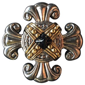 Other Silver and Gold Tone Brooch
