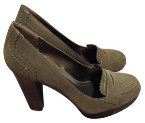 a.n.a. a new approach Khaki Heels Dress Green/khaki Platforms