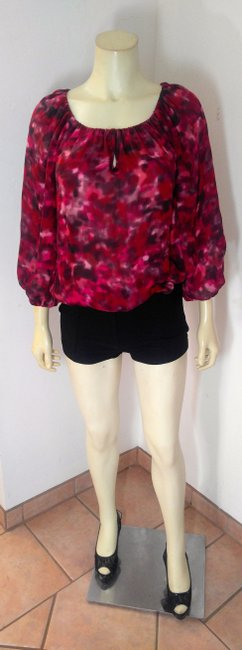 Alice + Olivia Size Small Long Sleeve Top red, Image 3
