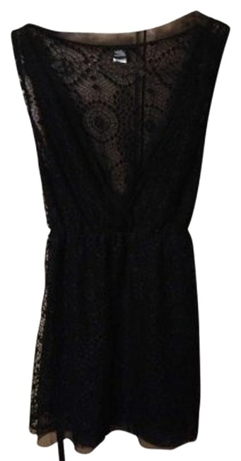 Only Hearts Top Black Lace