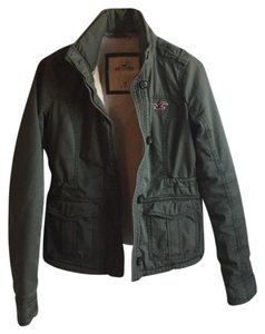Hollister Army Military Jacket