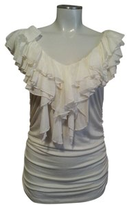Karen Kane Top Off White / Creme