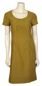 Boden short dress olive green on Tradesy