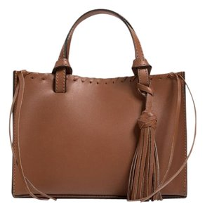 Zara Mini Leather Tote Shopper Cross Body Bag